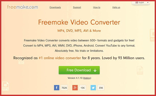 Optimize video with free-video-converter