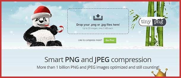 Optimize PNG with TinyPNG