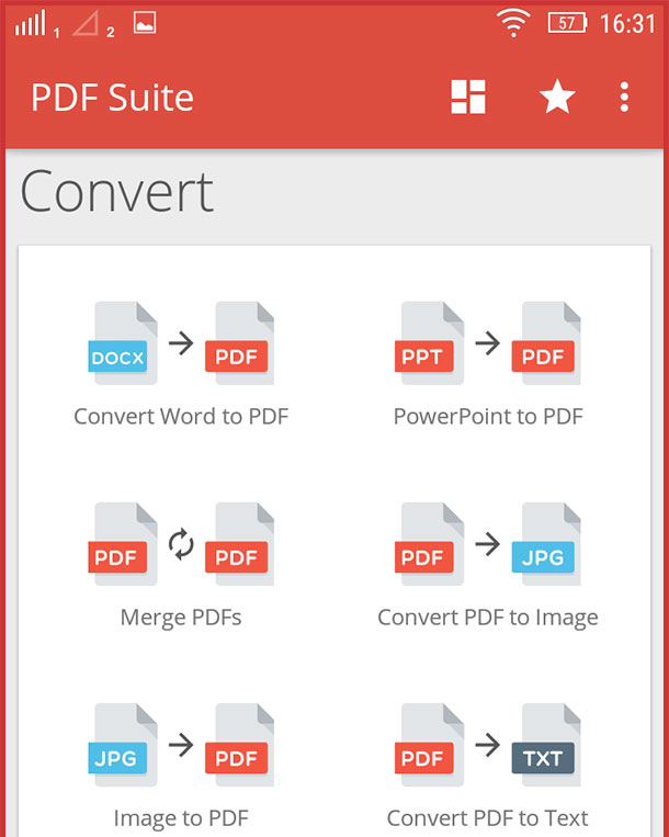 merge pdf files on android